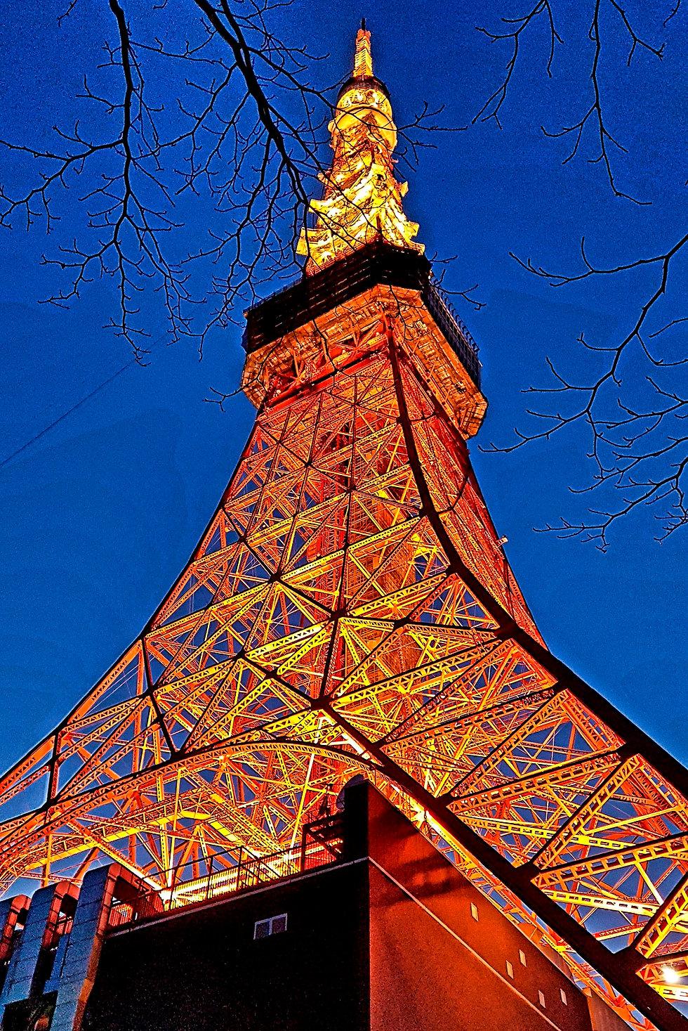 torre tokio, tokyo tower