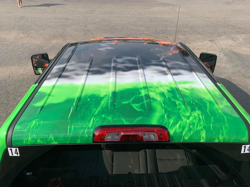 Hood and Roof Wraps