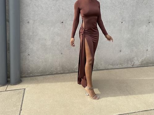 Exposed Slit Dress