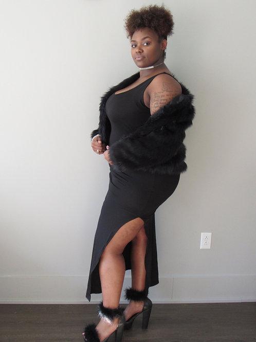 Luv U Not Slit Dress