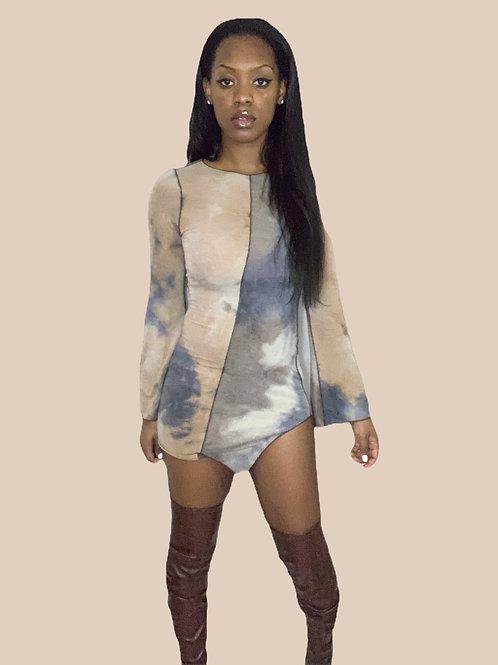 Raw Mini Dress