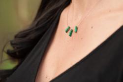 Green Malachite Fan #N10