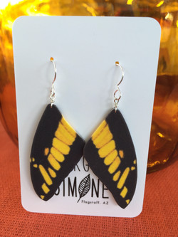 Yellow Butterfly Wings #E68