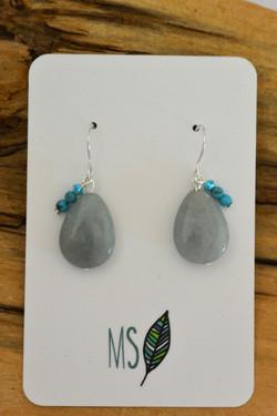 Aquamarine Drops #G34