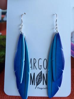 Double Blue Macaw #E60