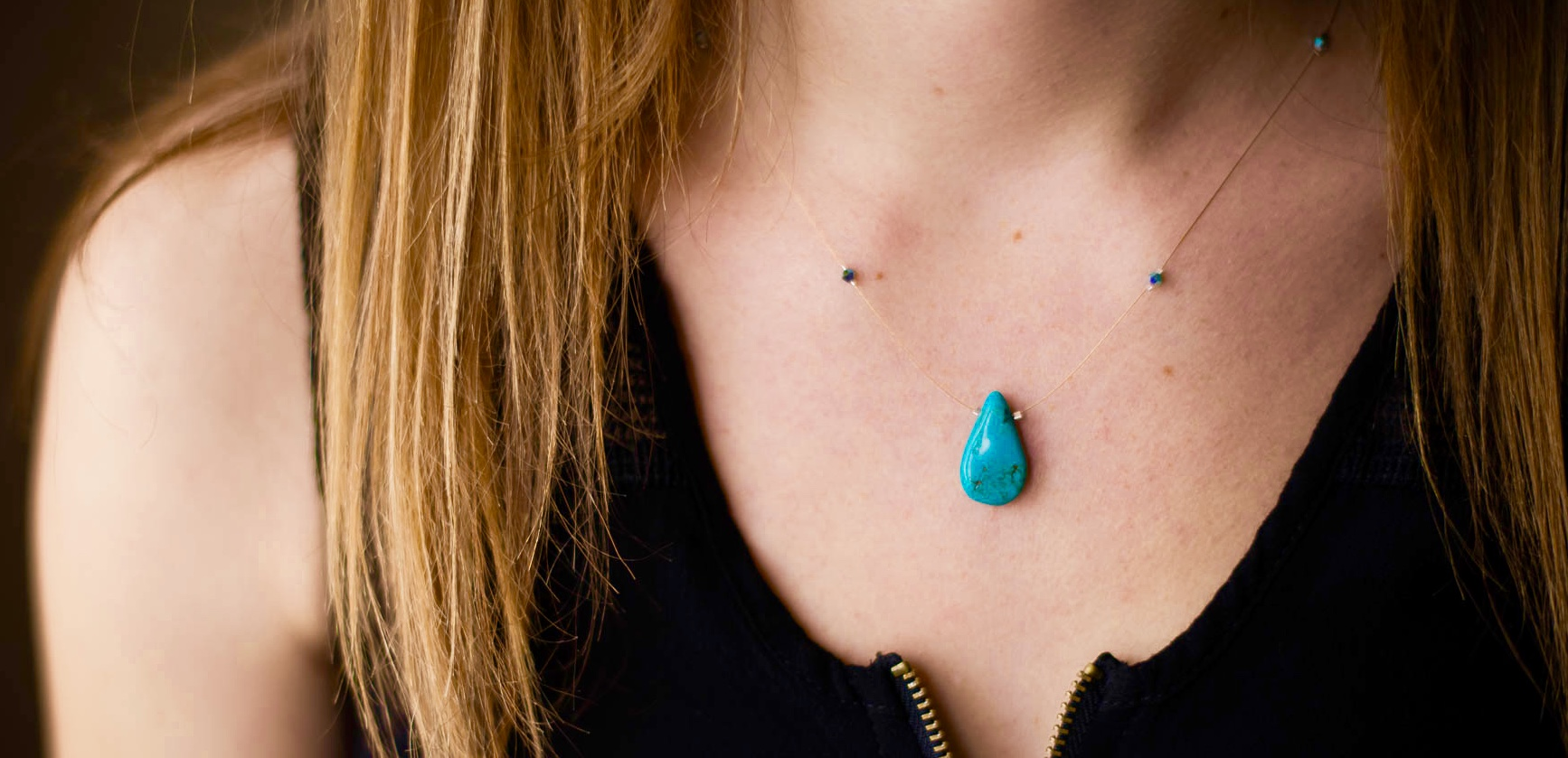 Turquoise Drop #N6