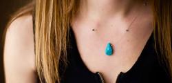 Turquoise Drop #N6