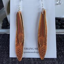 Pheasant Double Feather #E98