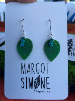 Small Green Aspen Drop #E58