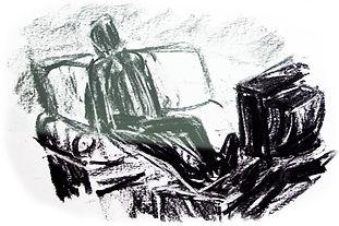 dessin fusain