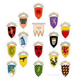 Houses of Dorne