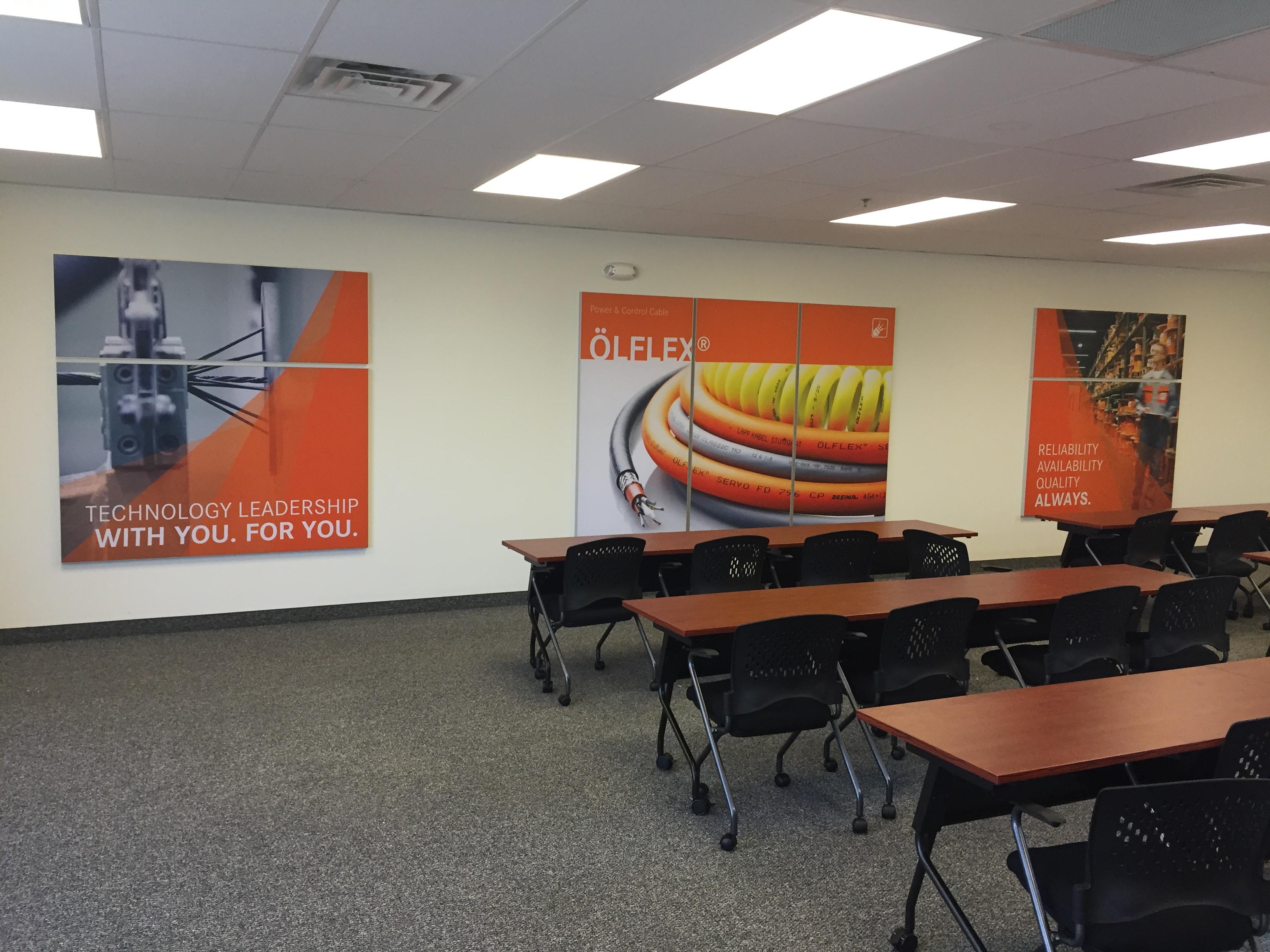 Training Room Graphics