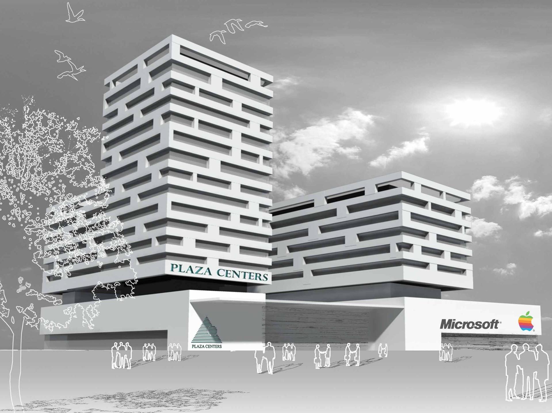 מרכז מסחרי ומשרדים, סופיה, בולגריה