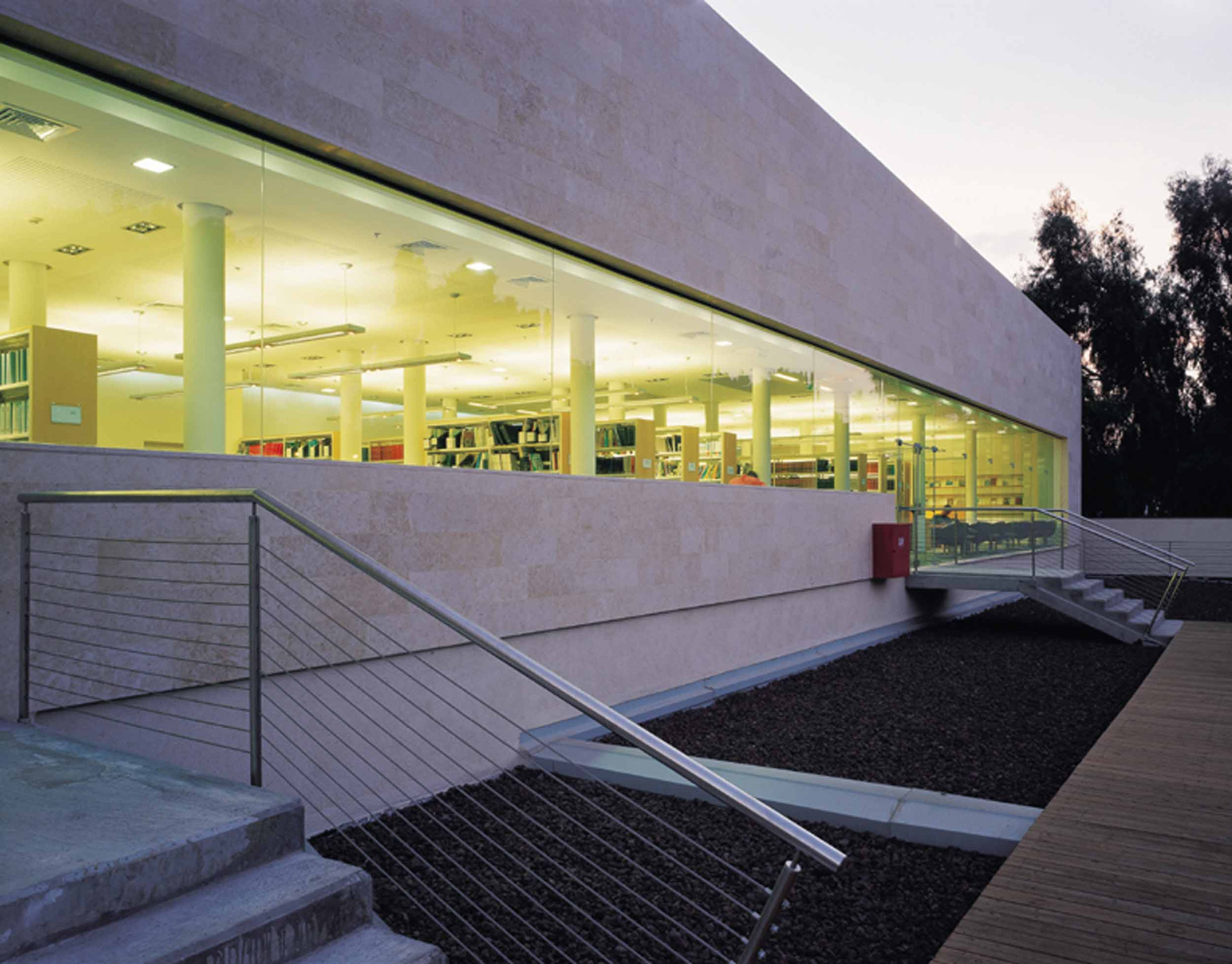 ספריית מרק ריץ, המרכז הבינתחומי, הרצליה