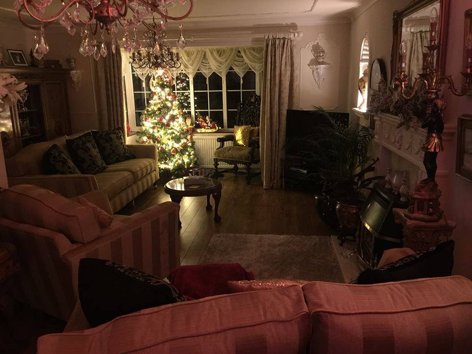 Alan Lee Ogden and Andrew Dyke;'s Home set for Christmas