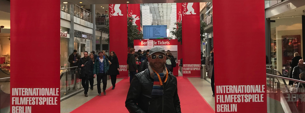 Producer Craig Wilde at Berlinale Film Festival 2018