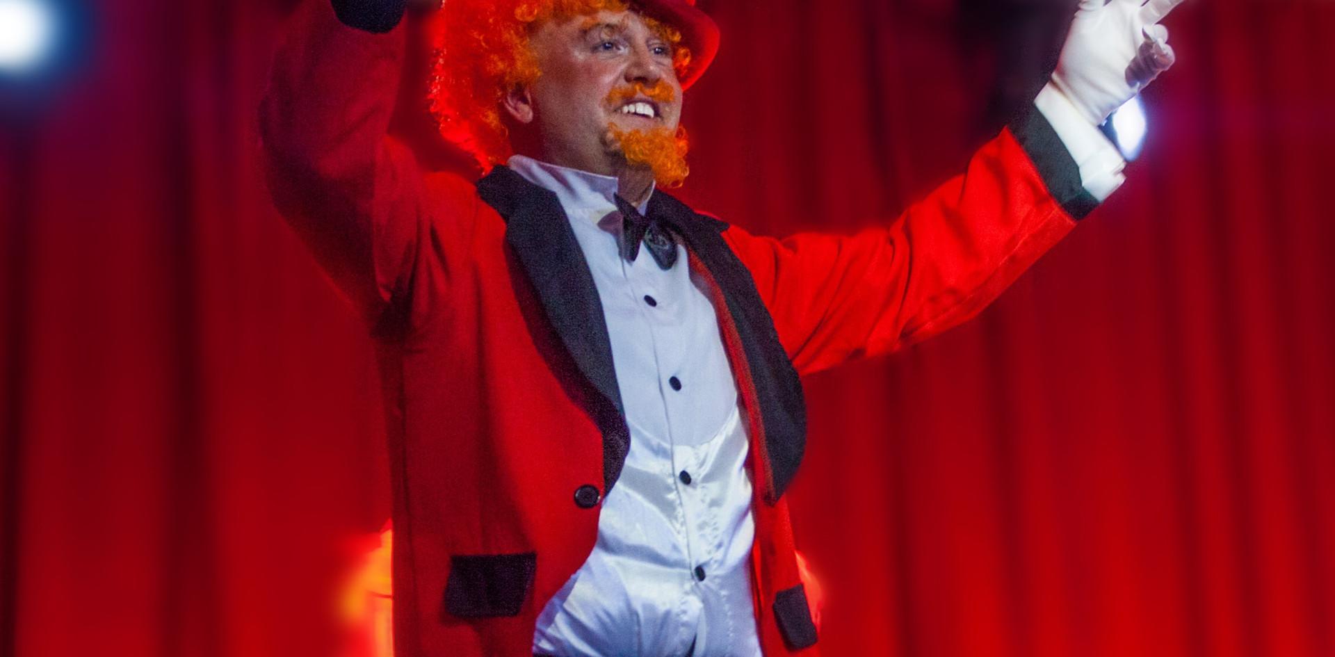 Craig Wilde as Zidler Moulin Rouge