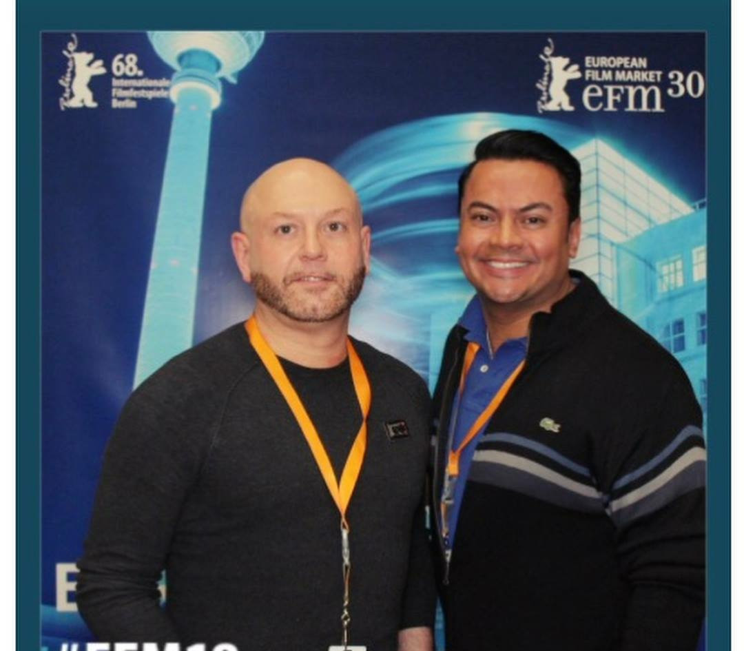 Craig Wilde with Dr Erick Arbenz