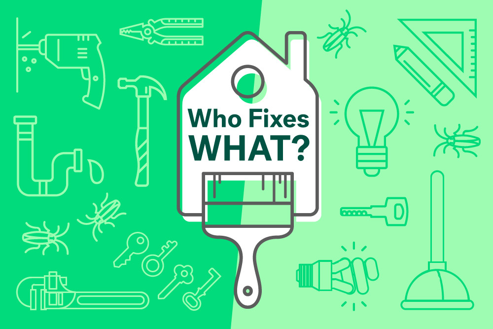 Repairs in a Tenancy - who fixes what?