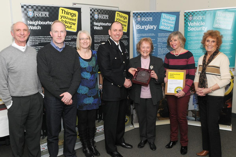Neighbourhood watch working closely with the local police