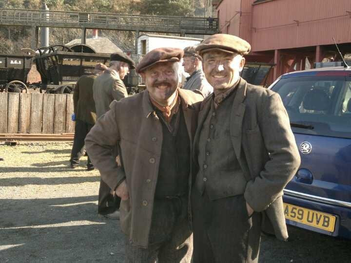 Craig Wilde on set of Tv Commerical for Newcastle Brown Ale