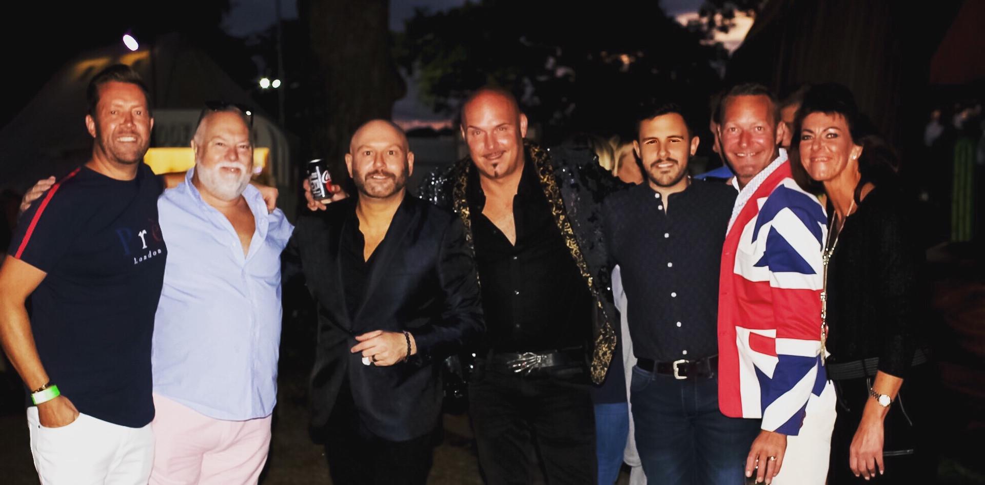 Craig Wilde with The Property Boyz, Filipe Neves Ribeiro and friends