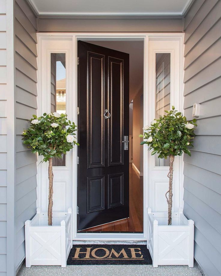 curb appeal for your property with a well painted entrance and front door