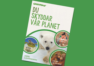 Greenpeace Welcome booklet