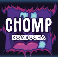 CHOMP KOMBUCHA LABEL DESIGN