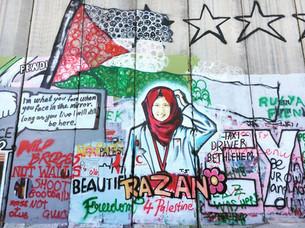 [L'Espresso] - I palestinesi furiosi con Banksy: il muro non è un business