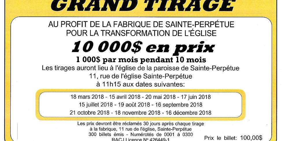 Grand Tirage | Sainte-Perpétue