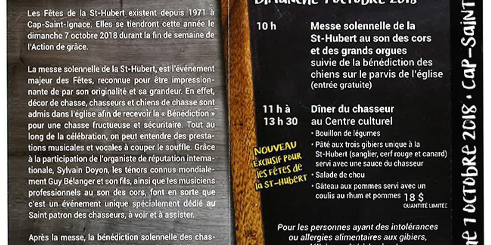 Les fêtes de la St-Hubert | Cap-St-Ignace