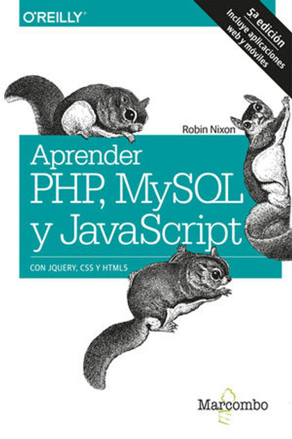 APRENDER PHP, MYSQL Y JAVA SCRIP. 5ed. Nixon