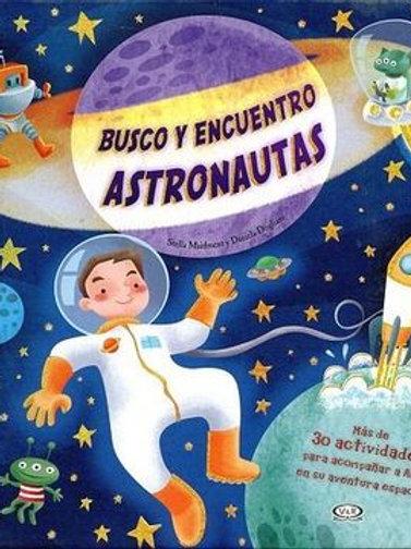BUSCO Y ENCUENTRO ASTRONAUTAS