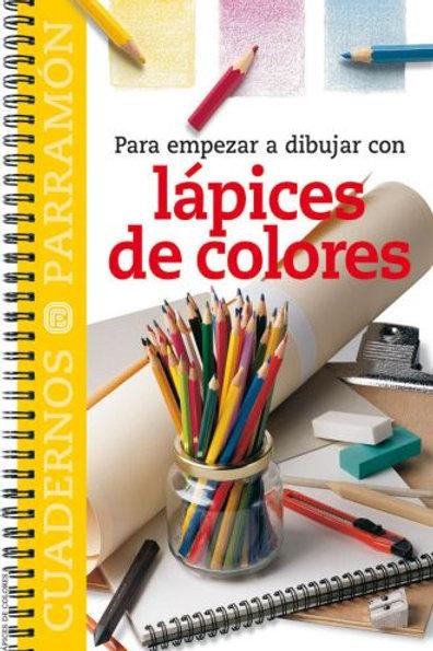 Para empezar a dibujar con lapices de colores