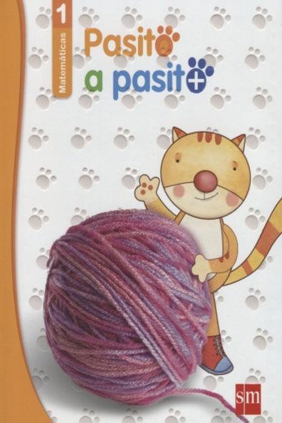 Matematicas 1 pasito a pasito. preescolar / 3 ed. (libro + guia para padres)
