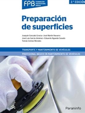 Preparación de superficies. transporte y mantenimiento de vehículos