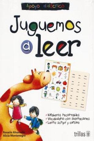 Juguemos a leer apoyo didactico alfabetos recortables vocabulario con ilustracio