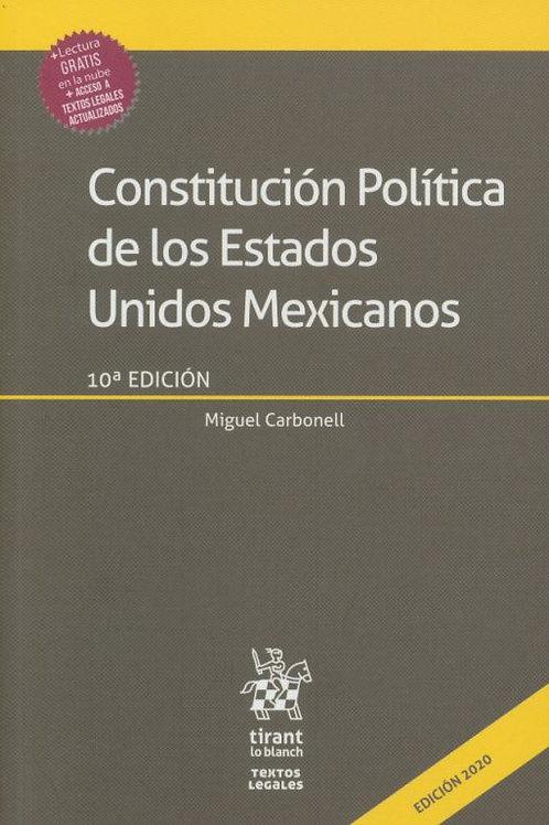 CONSTIYUCIÓN POLITICA DE LOS ESTADOS UNIDOS MEXICANOS