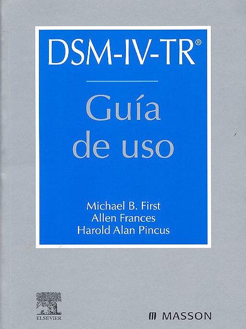 DSM-IV-TR.Guia de uso