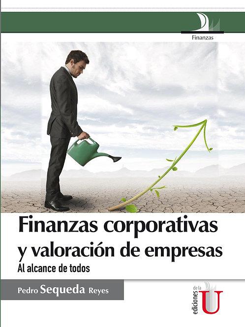 Finanzas corporativas y valoración de empresas.