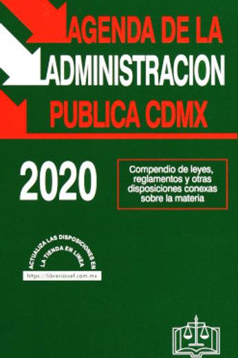 AGENDA DE LA ADMINISTRACIÓN PUBLICA DE LA CDMX 2020