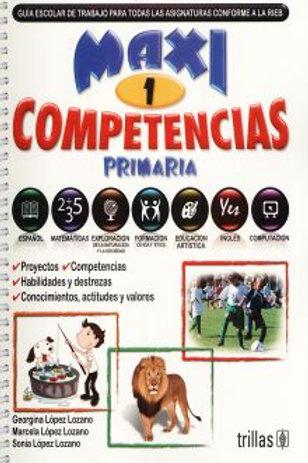 Maxi competencias 1. primaria