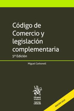 CODIGO DE COMERCIO Y LEGISLACIÓN COMPLEMENTARIA