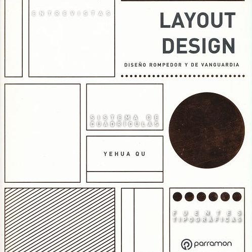Layout design. Diseño rompedor y de vanguardia