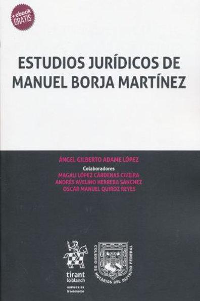 ESTUDIOS JURIDICOS DE MANUEL BORJA