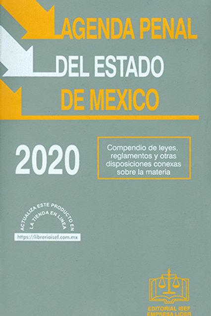 AGENDA PENAL DEL EDO. MEXICO 2020