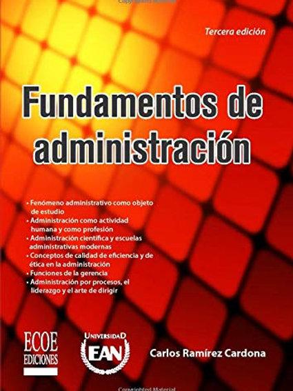 Fundamentos de administracion / 3 ed.