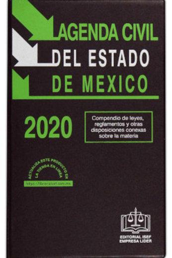 AGENDA CIVIL DE EDO. MEXICO 2020