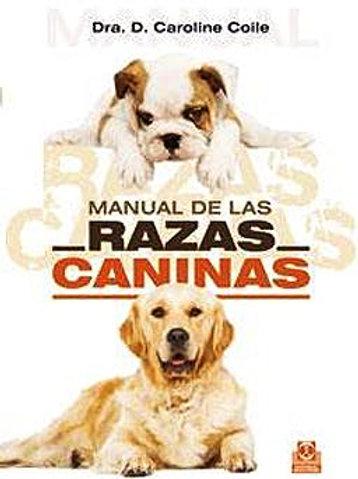 Manual de las razas caninas (cartoné y color).